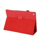 EPGATE Litchee Pattern suojaava PU Leather Case Cover Teline SONY Xperia Tablet Z2-Red