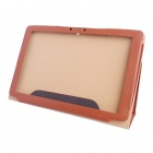 iFive X3 Protective PU Tablet Case Cover Stand for iFive X3 Tablet PC - Brown