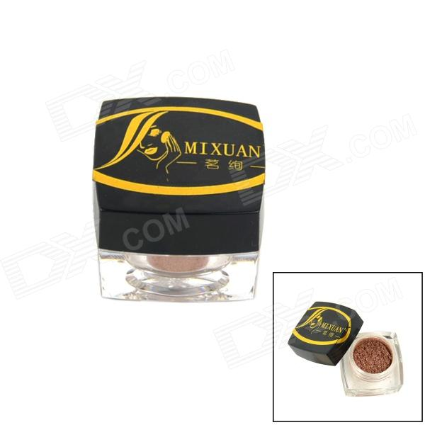 MINXUAN Mini Cosmetic Makeup Light Shine Eye Shadow Powder - Coffee Golden gd450 thermal conductive grease paste silicone plaster heat sink compound net weight 1000 grams golden for led cpu cooler cn1000