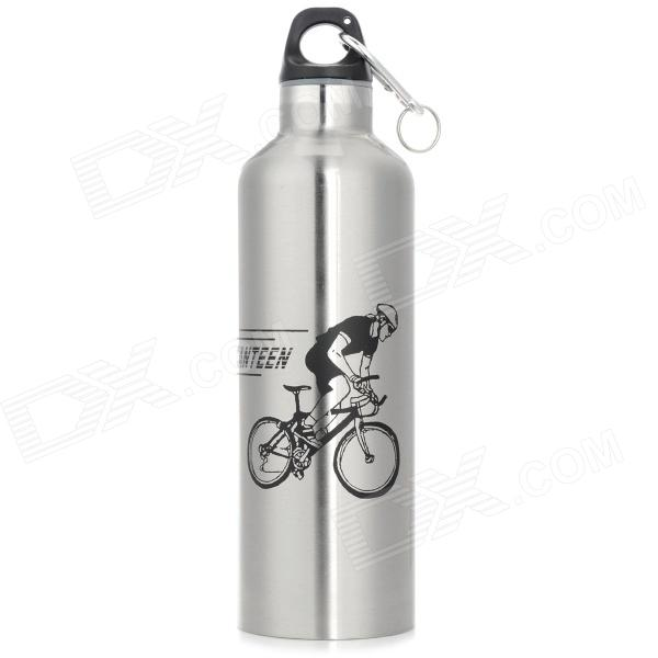 Outdoor Cycling Bike Stainless Steel  Insulation Kettle / Bottle - Silver (600ml)