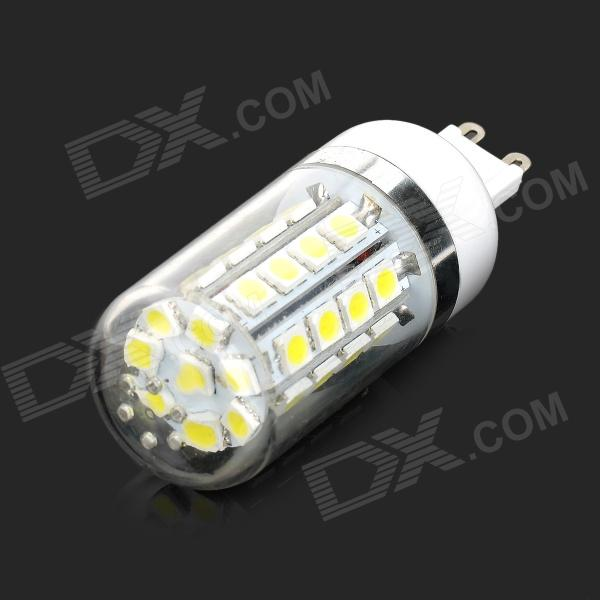 Lexing LX-YMD-083 G9 4.5W 250lm 7000K 36-SMD 5050 LED White Light Lamp (AC 220~240V) lexing lx qp 20 e14 6w 470lm 3500k 15 5730 smd led warm white light dimmable lamp ac 220 240v
