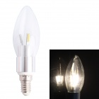 E14 3.5W 260lm 3000K 36 x SMD 3014 LED Warm White Candle Light Bulb - White (AC 220V)