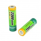 Pisen 2300mAh Ni-MH Rechargeable AA Batteries - Green (2 PCS)