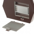 "LX-200B 1.2"" LCD Digital Jewelry Scale - Brown + Silver (2 x AAA)"