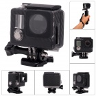 Fat Cat Carbon Fiber Style Side Open Housing Protective Case Skeleton Housing for GoPro Hero 3+ / 3