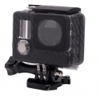 Fat Cat Carbon Fiber Style Professional 30M Waterproof Case Skeleton Housing for GoPro Hero 3+ / 3