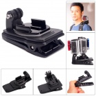 Fat Cat M-DR Dual-Cam Rec-Mount Backpack Clip Mount for GoPro - Black