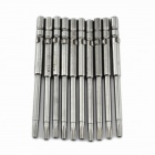 ABC KD-4T10 Electric Screwdriver Torx Bits Set - Silver Grey (4mm-Shank)