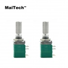 MaiTech 8-Pin B50K Potentiometer w/ Switch - Green (2 PCS)