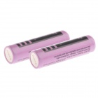 Power A-C5 Rechargeable 4.2V 2800mAh 18650 Lithium Ion Batteries - Pink (2 PCS)