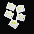 LX19K DC 220V 5A Reset Micro Limit Switches - Grey (5 PCS / AC 380V)