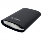 COOMAX C8 9800mAh USB Mobile Power Source Bank for IPHONE / Samsung + More - Black
