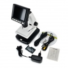 "UM088 20~500/1200X 3.5"" LCD Digital Microscope w/ 8-LED"