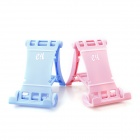 e-J ZJx2 Simple Creative Racing Car Style Stand Support Holders - Pink + Light Blue (2 PCS)