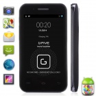 "Gfive(G5) X1 MTK6572W Dual-Core Android 4.2 WCDMA 3G Bar Phone w/ 3.5"", Wi-Fi, TF - Black"