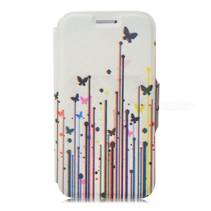 Kinston Grass Butterfly Pattern Protective PU Leather Case Cover Stand for IPHONE 5 / 5S - WhiteLeather Cases<br>Form ColorWhite + Blue + Multi-ColoredBrandKinstonModelKST02095Quantity1 DX.PCM.Model.AttributeModel.UnitMaterialPU Leather + PlasticShade Of ColorMulti-colorCompatible ModelsIPHONE 5S,IPHONE 5StyleFull Body CasesDesignMixed Color,Graphic,With StandAuto Wake-up / SleepNoOther FeaturesProtects your device from scratches, dust, shock and abrasion; Stand design for comfortable viewingPacking List1 x Protective case<br>