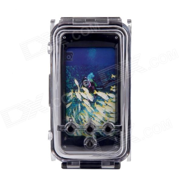 WP-i5 40M Diving Waterproof Photo Protective Case for IPHONE 5 - Black