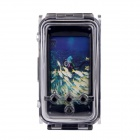 WP-i5 40M caso protector de buceo impermeable Foto IPHONE 5 - Negro