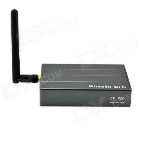 Car Audio Mirrorlink Wi-Fi Box Compatible with IPHONE Airplay mirror / Andorid Miracast w/ AV-IN