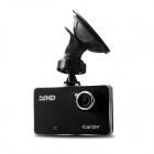 "Novatek G20L 2.7"" TFT 1080P 3.0 MP CMOS Car DVR w/ G-sensor, Loop-cycle Recording, 1-IR LED - Black"