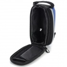 YANHO YAN-02 Bike Polyester + PU Top Tube Bag - Black + Blue