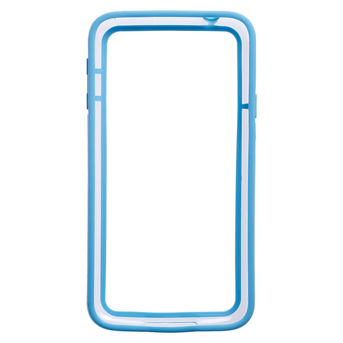 HW01 High Quality Protective Plastic Bumper Frame for Samsung Galaxy S5 - Light Blue