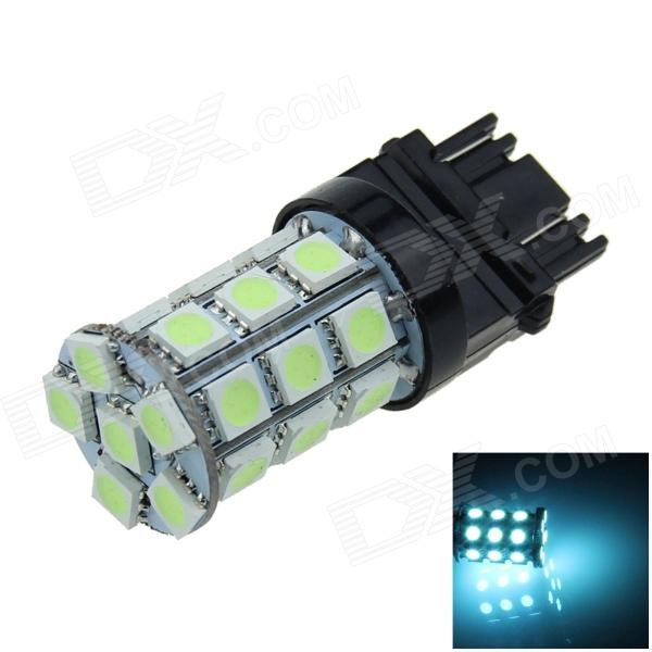 3157 / 3156 6W 300lm 27 x SMD 5050 LED Ice Blue Car Steering / Brake / Backup / Tail Lamp - (12V)
