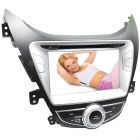 "LsqSTAR 8"" Touch Screen 2-DIN Car DVD Player w/ GPS,AM,FM,RDS,AUX for Hyundai Elantra / Avante / I35"