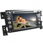 "LsqSTAR 7"" Touch Screen 2-DIN Car DVD Player w/ GPS, AM, FM, RDS, 6CDC, AUX for Suzuki Grand Vita"