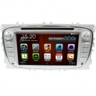 "LsqSTAR 7"" Touch Screen 2-DIN Car DVD Player w/ GPS, AM, FM, RDS, 6CDC, Canbus, AUX for Mondeo/Focus"