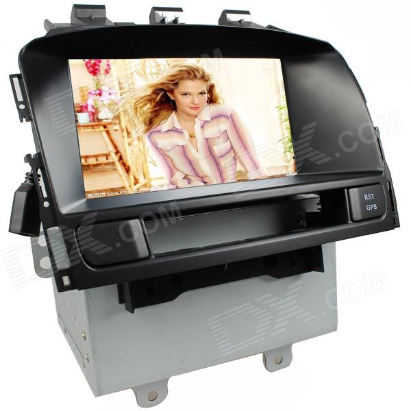 "LsqSTAR 7 ""tactile écran voiture 2-DIN DVD Player w / GPS, AM, FM, RDS, 6CDC, Canbus, pour Opel Astra J"