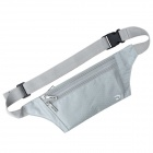 JBYD JA1002 Outdoor Sports Anti-theft Polyester Waist Bag - Silver