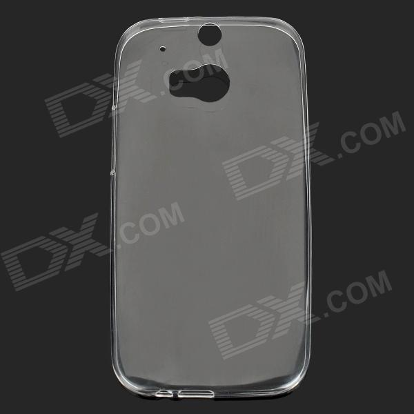 ROCK Protective Ultrathin Soft PC Case for HTC One 2 / M8 - Transparent