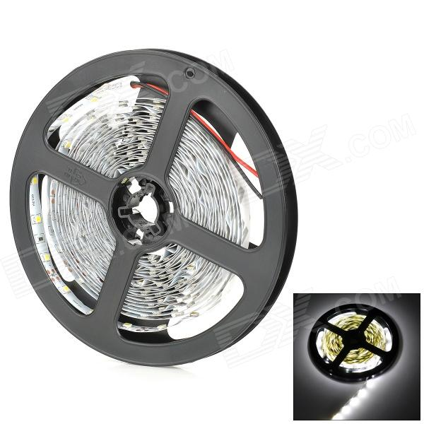 LSON 12W 900lm 300-SMD 3528 LED Cold White Light Strip (DC 12V / 5m)