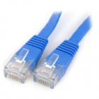 UTP CAT6 Flat Network Cable Router / Switch + More - Deep Blue (30m)