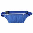 JBYD JA1002 Outdoor Sports Anti-theft Polyester Waist Bag - Deep Blue