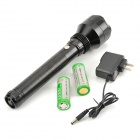 SLH SLH-H561 650LM T6 LED White Dimming Water Resistant Flashlight - Black (2 x 26650)