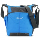 "OKADE T24 Casual Nylon One-Shoulder Bag for 11.6"" Laptop / Tablet PC - Blue + Black"