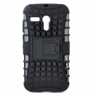 Protective TPU + PC Case Stand for Motorola Moto G Phone - Black