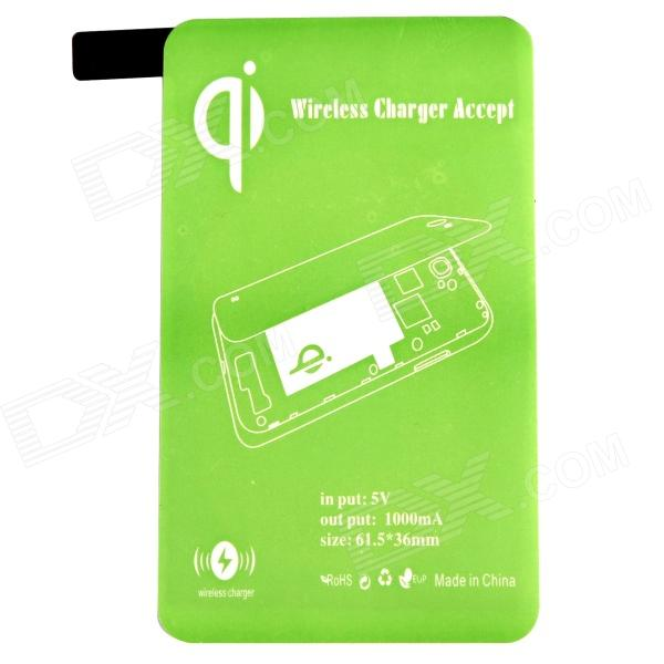 Wireless Charger Receiver for Samsung Galaxy S5 - Green samsung g900h galaxy s5 16гб белый в омске