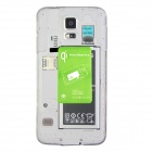 Caricabatterie wireless ricevitore per Samsung Galaxy S5 - verde