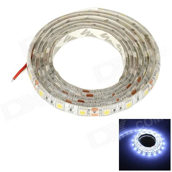 Water Resistant 72W 3000LM 6000K 90-5050 SMD LED White Light Stripe - White (160CM / DC12V)