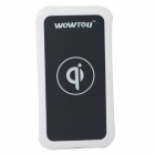 WOWTOU WSI Qi Standard-Mobile Wireless Power Charger - White + Black