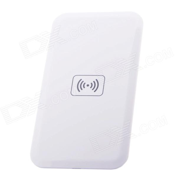 Q9 QI Wireless Charging Charger Pad for LG E960 / Google Nexus 4 2G / Nokia Lumia 920 - White t2 mini qi wireless charger pad for lg e960 google nexus 4 2g nokia lumia 920 white black