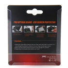 JYC Professional Toughened Glass Camera LCD Screen Protector for Sony A7 - Black + Transparent