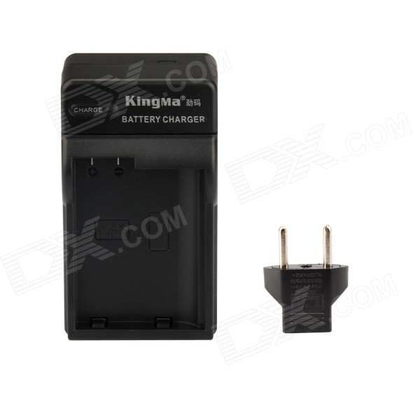 Kingma EN-EL15 Battery Charger kit for Nikon EN-EL15 / Nikon D7000 / D800 / D600 - Black (US Plugss)