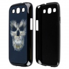 3D Skeleton Pattern Protective PC Back Case for Samsung Galaxy S3 i9300 - Black