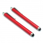 Universal Stylus Touch Screen Pen for IPHONE, iPAD, IPOD - Red (2 PCS)