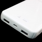 TOP-FLIGHT 5V 10000mAh Portable Power Bank / 3G Wireless / Wi-Fi Router for IPHONE + More - White