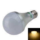 LUO E27 12W 1000lm 3000K 24 x SMD 5630 LED Warm White Light Bulb - Silver + White (85~265V)